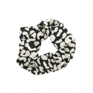 Scrunchie leopard white