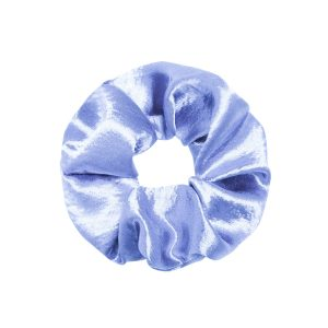Scrunchie satin blue