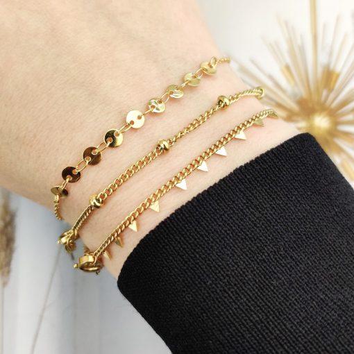 Bracelet coins