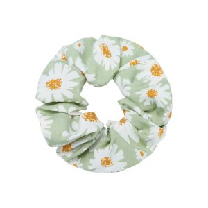 Scrunchie flowers green