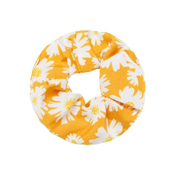 Scrunchie flowers yellow