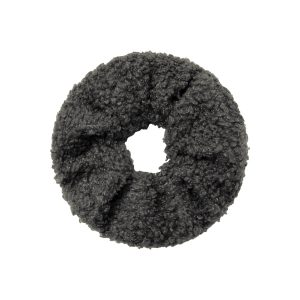 Scrunchie teddy grey