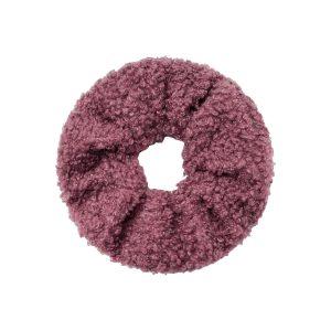 Scrunchie teddy pink