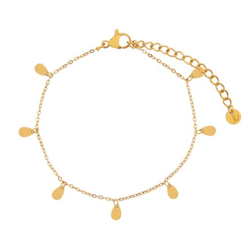 Bracelet a lot of drops gold