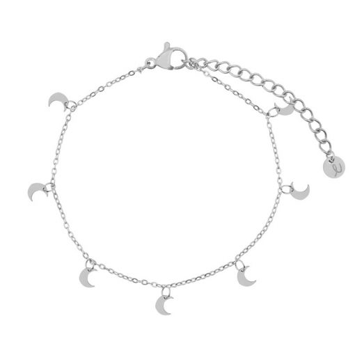 Bracelet a lot of moons silver