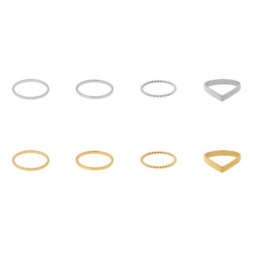 Rings of set rings basic